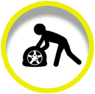 Glenn's Towing & Recovery offers Tire Changes